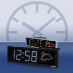 QUASAR – Zeit- und Temperaturanzeiger mit Wettervorhersage
